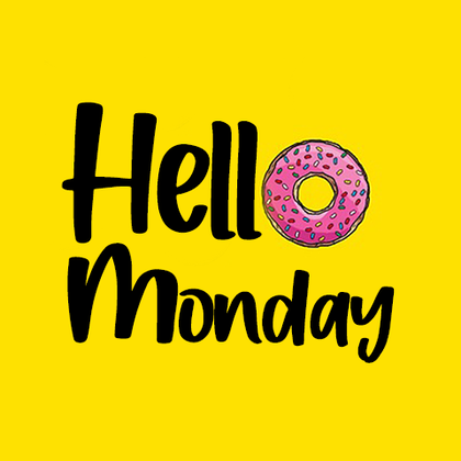 Hello Monday with Donut